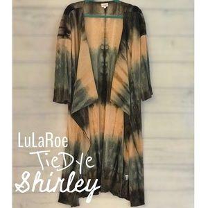 Tie Dye LuLaRoe Shirley Kimono fits M-XL